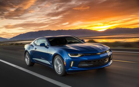 The 2016 Camaro 2.0-liter turbocharged I4 is on sale now.