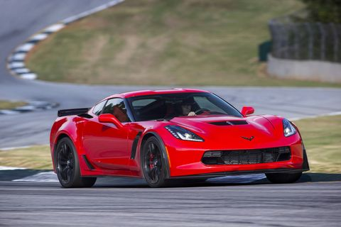 The 2018 Chevrolet Corvette Z06 delivers 650 hp from its supercharged V8.