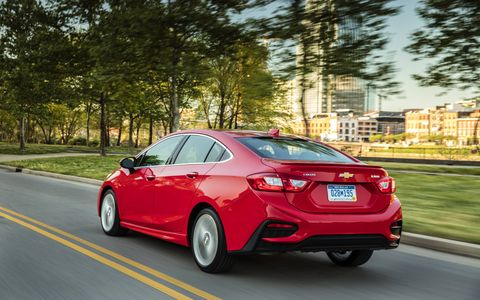 The 2016 Chevrolet Cruze promises to be the most connected compact.