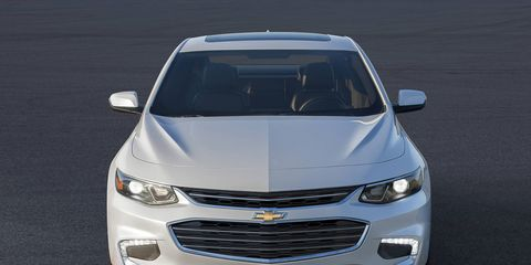 The 2016 Chevrolet Malibu sedan debuted at the 2015 New York auto show