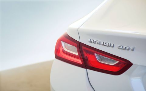 The 2016 Chevrolet Malibu sedan debuted at the 2015 New York auto show