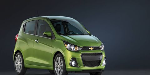 2016 Chevy Spark subcompact