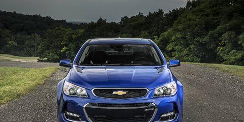 2016 Chevrolet SS sedan
