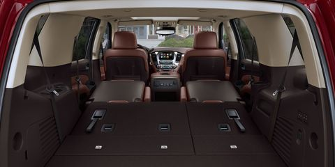 The Chevrolet Tahoe has several configurations for the seats, depending on need.