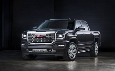 The Ultimate trim sits atop the Sierra Denali range of pickups.