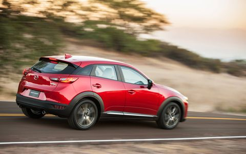 Handling is very good for a crossover utility vehicle.