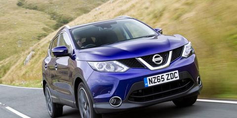 The Qashqai  is just a bit smaller than the Rogue, and has been offered in other markets since 2006.