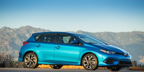 The Scion iM is the hatchback and the iA is the sedan.