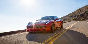 The Karma Revero's lines are largely the work of designer Henrik Fisker; the company's partnership with Pininfarina could take Karma's product in a new direction visually.