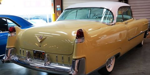 A 1954 Cadillac is about as American as it gets. This car will be worshiped as a god in its new overseas home.