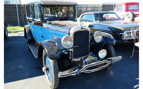 Almost certain to be the only 1927 Nash Model 328 in the Netherlands.