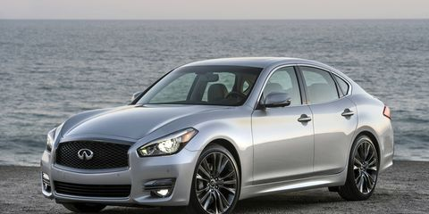 The 2016 Q70 Premium Select is set to go on sale in the fall with a number of unique interior and exterior materials and trim.