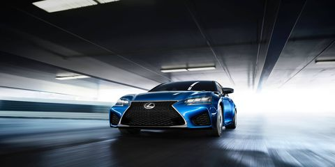 The 2016 Lexus GS F performance sedan will debut at the 2015 Detroit auto show.