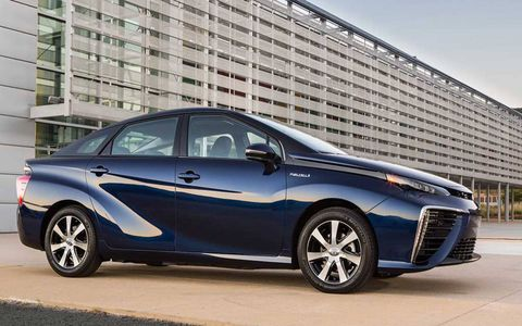 Toyota Mirai sports a cd of 0.29.