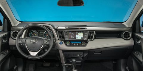 The RAV4 Hybrid can be had in three grades: XLE, SE, and Limited.
