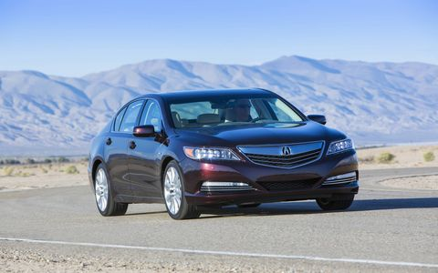 The RLX produces 310 horsepower and 273 lb-ft of torque.