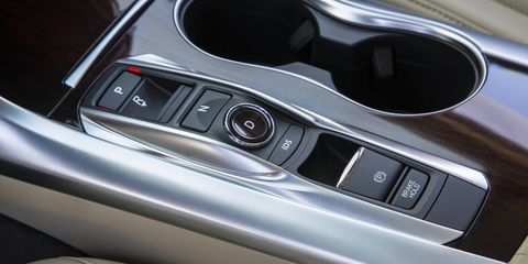Acura's push button gear selector faced trouble similar to Chrysler's a few years back. Unlike Chrysler, it wasn't because drivers forgot to press the button for park, but because park wouldn't engage.