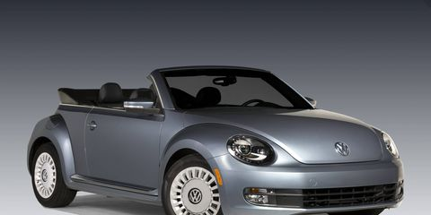 The 2016 Beetle Denim is a value model in the Convertible lineup and just 2,000 production units will be offered across the United States. Available with a 1.8-liter turbocharged and direct-injection engine and a six-speed automatic transmission, the Beetle Denim produces 170 horsepower and 184 pound-feet of torque.