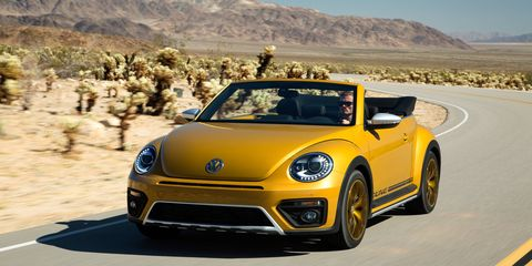 The Dune uses the same 170-hp powerplant as the rest of the base Bug family.