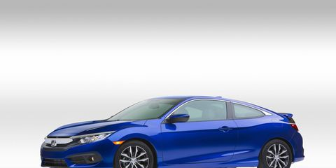Honda revealed the production version of its Civic Coupe the night before the LA auto show at its Advanced Design Center just a few blocks away from the show in downtown Los Angeles.