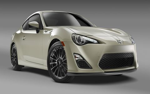 The FR-S Release Series features leather trim, extra upscale features and a few exterior tweaks.