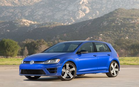 The 2015 Golf R is bigger, lighter, and more spacious than previous generations.