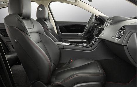 Inside the 2016 Jaguar XJ luxury sedan