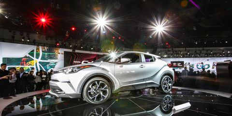 The C-HR was a Scion. Now it's a Toyota with a real timeline, going on sale in 2017.
