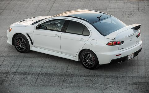 This sporty package will be the feather in the cap of the Lancer Evolution.