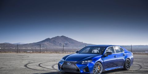 Packing a 467-hp 5.0-liter V8, the performance-oriented 2016 Lexus GS F sedan has made its official debut at the 2015 Detroit auto show.
