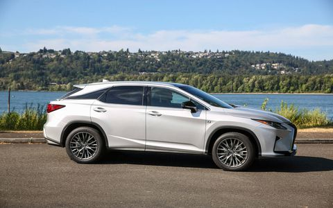 The fourth-generation Lexus RX 350 debuted its most powerful V6 engine ever with 295 hp and 268 lb.-ft. of torque.