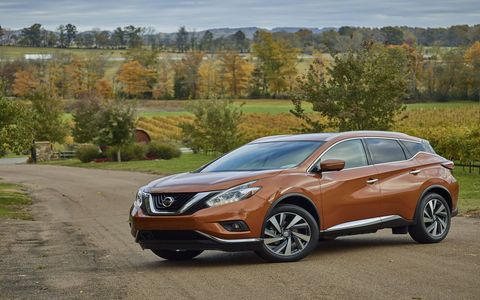 The Nissan Murano competes with other midsizers like the Jeep Grand Cherokee and the Ford Edge.