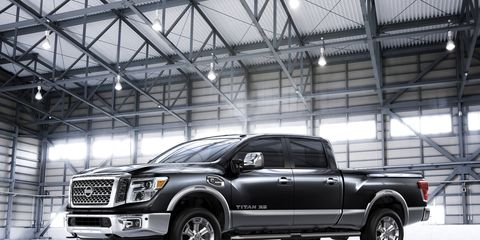 The 2016 Nissan Titan XD pickup, a full-size truck that offers near-heavy-duty towing and hauling capability, has made its world debut at the 2015 Detroit auto show.
