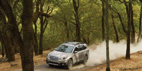The Subaru Outback, one of two models included in the recent recall
