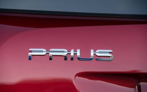 The new Prius is 2.4 inches longer, 0.6 inches wider, and 0.8 inches lower than the previous model.