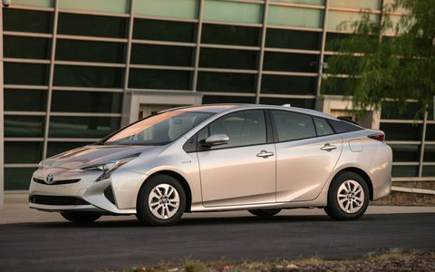The Prius still has the edge over the Ioniq, but for how long?