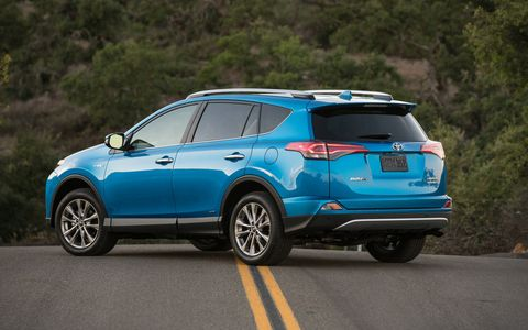 The RAV4 Hybrid comes in two premium grades: XLE and Limited. The RAV4 gas version comes in four grades: LE, XLE, Limited and the new SE.