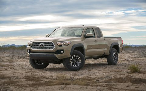 The 2016 Toyota Tacoma has been revealed at the Detroit auto show. Buyers get a choice of two engines, including an Atkinson cycle V6, and five trims.