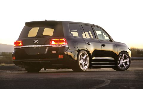 The Land Speed Cruiser is set to topple the SUV top speed record.