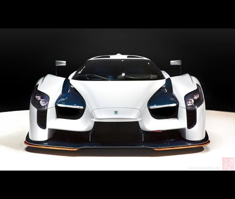 The 2018 SCG 003s shown at the Geneva Auto Show