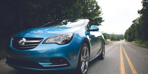 The 2017 Buick Cascada Sport Touring goes on sale this fall.