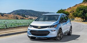 """GM said the Bolt EV's 238 miles of range will meet the average consumer's daily driving needs """"with plenty of range to spare."""""""