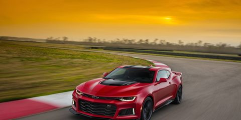 According to an apparently leaked order guide, the 2017 Chevrolet Camaro will officially have the same 650-hp output as a Corvette Z06.