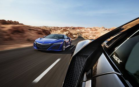 The 2017 Acura NSX finally goes on sale.