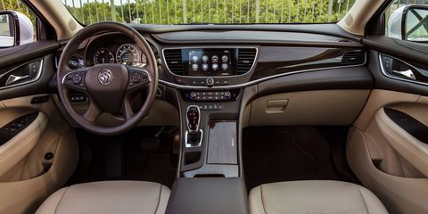 Buick follows a path of tasteful, non-threatening upgrades with the LaCrosse.