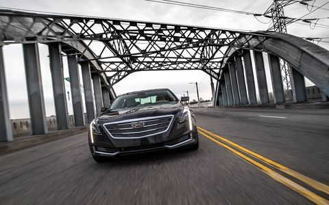 The 2017 Cadillac CT6 offers one of three drivetrains: a 2.0-liter I4 turbo, 3.6-liter V6 and a 3.0-liter twin turbo that offers an estimated 404 hp and 400 lb-ft of torque.