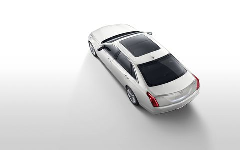 Cadillac is adding a plug-in hybrid to its top-of-the-line CT6 called, creatively, the CT6 Plug-In. The luxo-liner has an all-electric range of 31 miles, 62 MPGe, 0-60 of 5.2 seconds and a fully loaded sticker price of $76,090.
