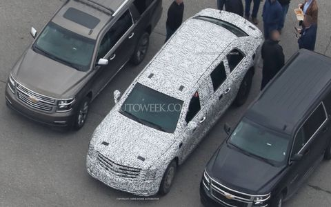 The 2017-generation Cadillac presidential limousine is almost ready for its debut.