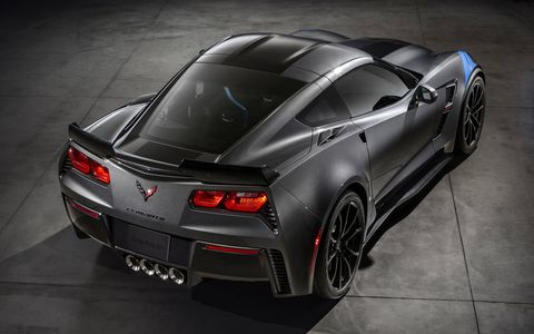 The 6.2-liter V8 engine makes 455 hp and 460 lb-ft of torque.