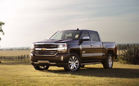 It's difficult not to be noticed when rolling around in Chevy's most luxurious pickup.